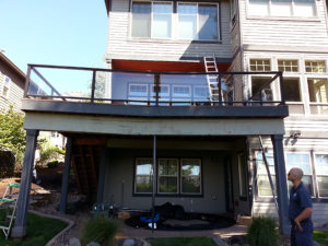 wooden deck repair