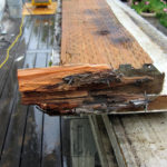 deck wood rot repair