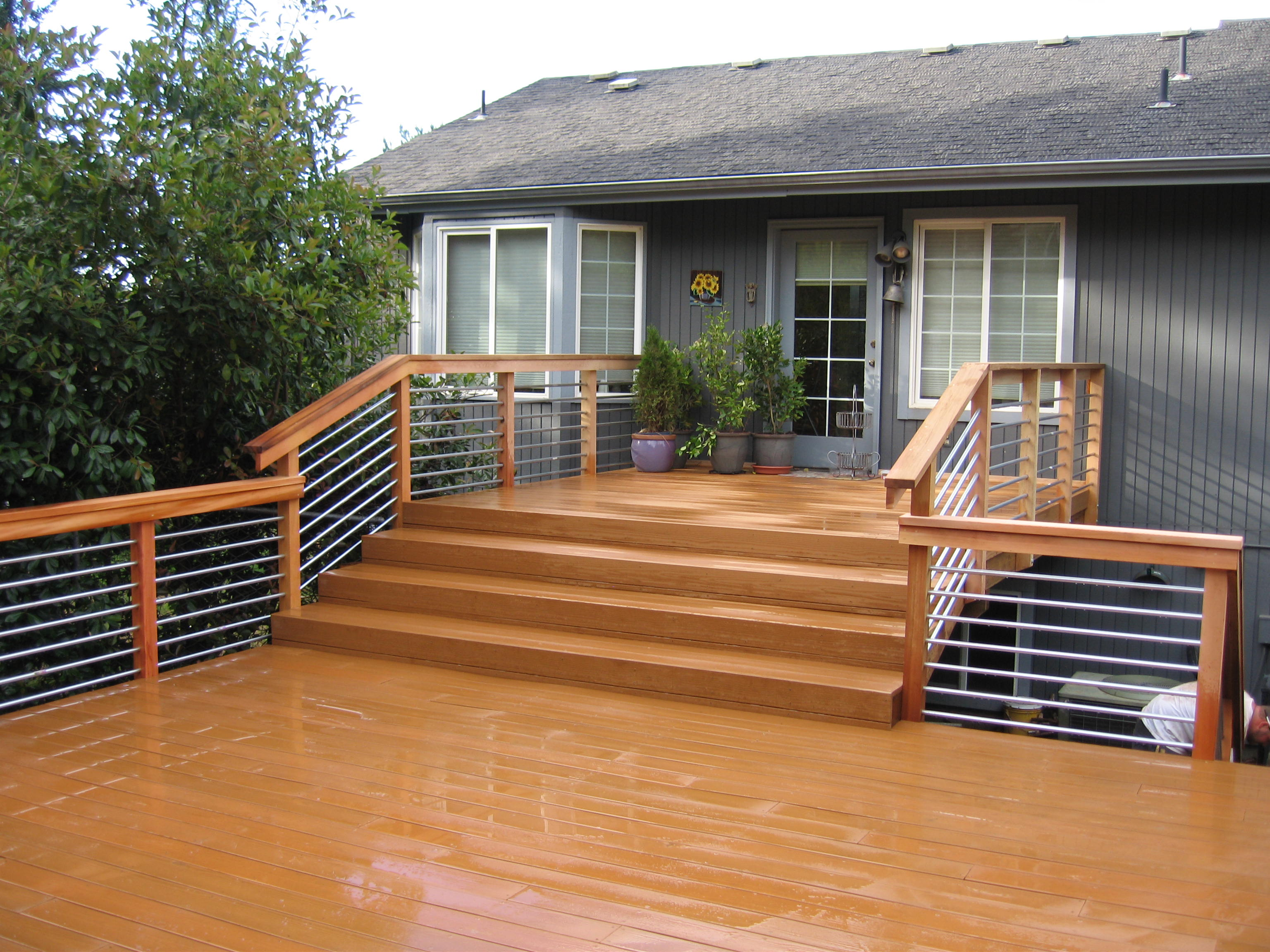 Wooden Decks An Stairs Sfw Construction Llc
