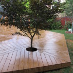 Custom Wooden Deck Design