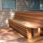 Wooden Bench Design