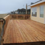 Beach House Wooden Deck