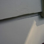 Cracked siding example in Portland OR