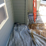 drop clothing walkways is important in house painting tips