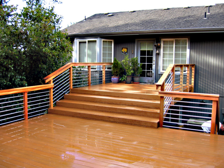 Portland Deck Staining
