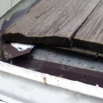 dry rot repair as part of a Roof repair project