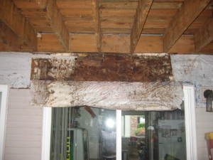 Rotten Structure Due to Leaking Windows