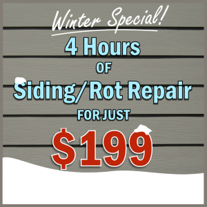 Winter Deal - 4 hours of home repair for just $199.