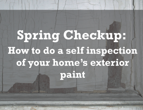 Exterior Paint Checkup: Self-Inspection