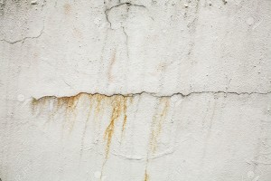 Rust exterior paint stain