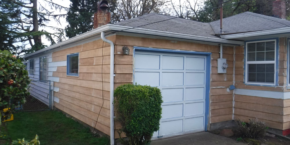 Exterior Paint Stains