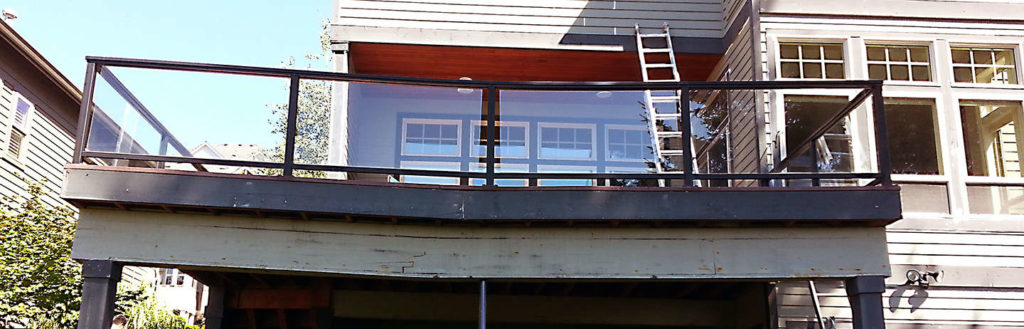 Dry rot repair can fix this deck!