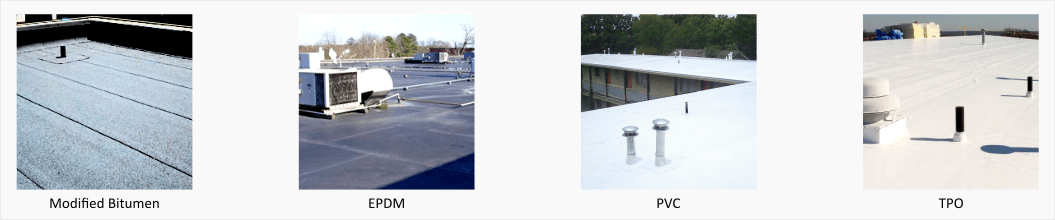 Flat roof types - SFW Construction, Portland, Oregon.