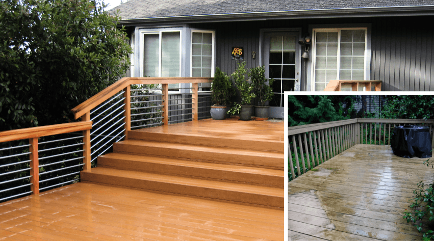 Deck repair & construction in Seattle, Washington. SFW Construction LLC.