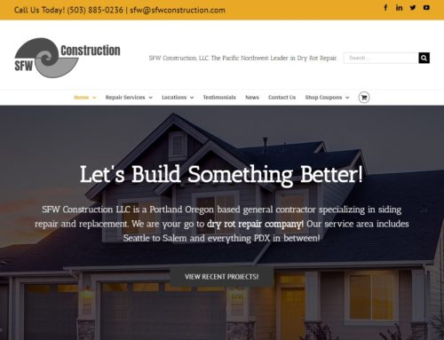 SFW Construction launches new website!