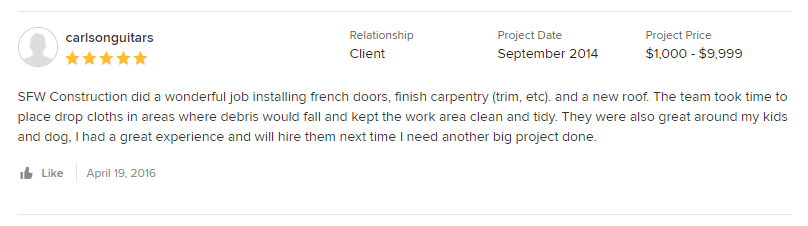 sfw construction houzz reviews