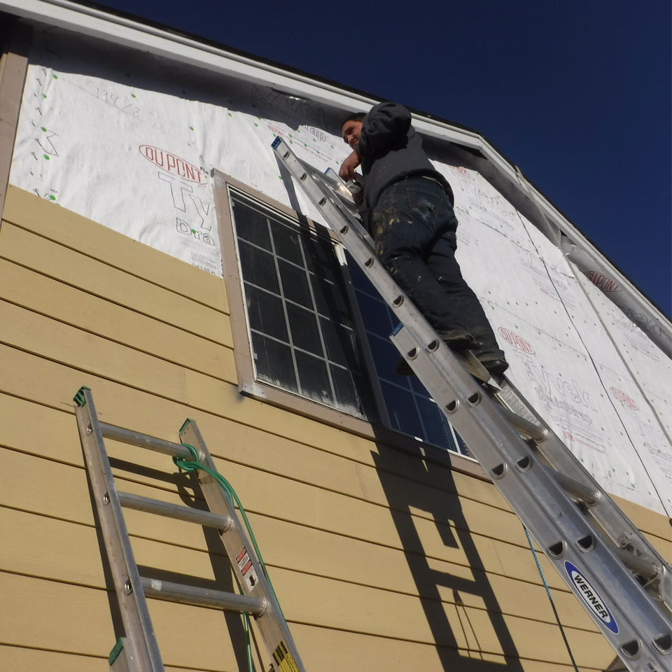 Portland Siding and Dry Rot Repair