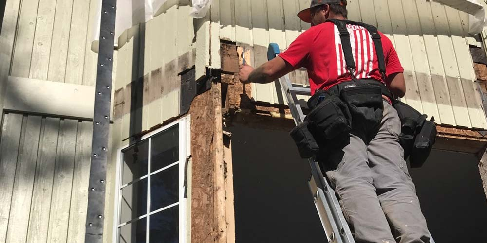 Replacing Rotten Wood Around A Window