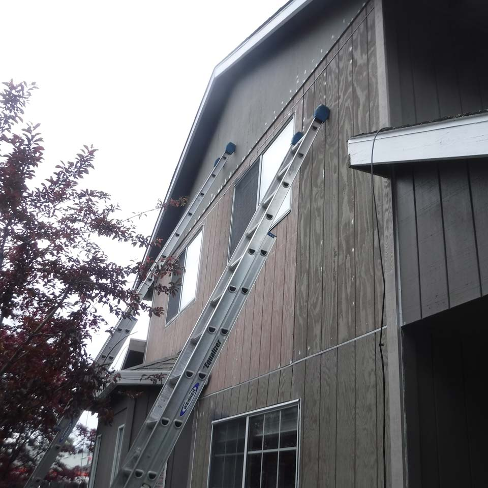 Siding Repair 2nd floor