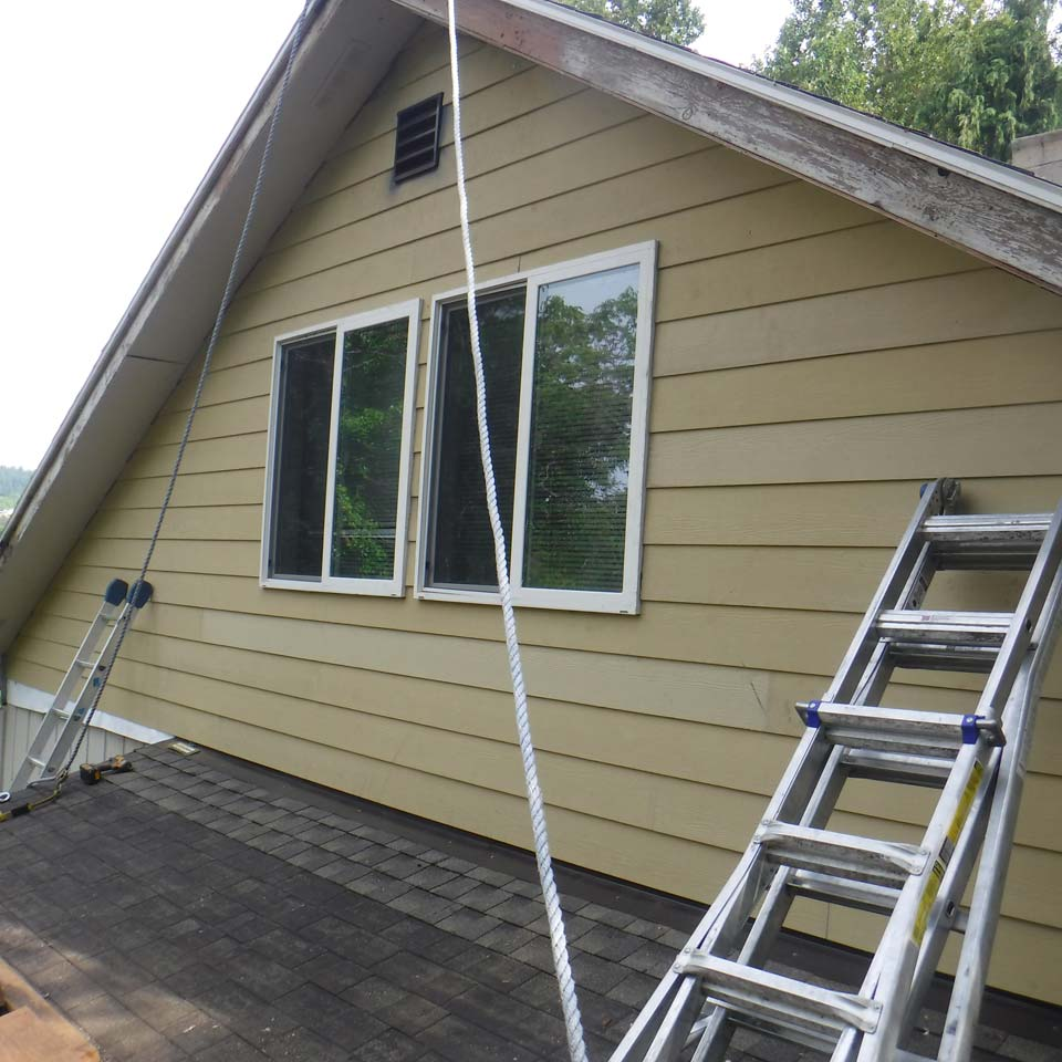 Siding Repair Lake House