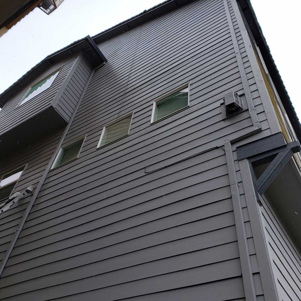 Multi Family Exterior Paint Repair