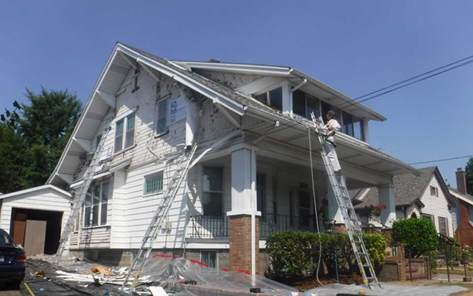 Portland Historical Home Restoration Lead Paint Removal