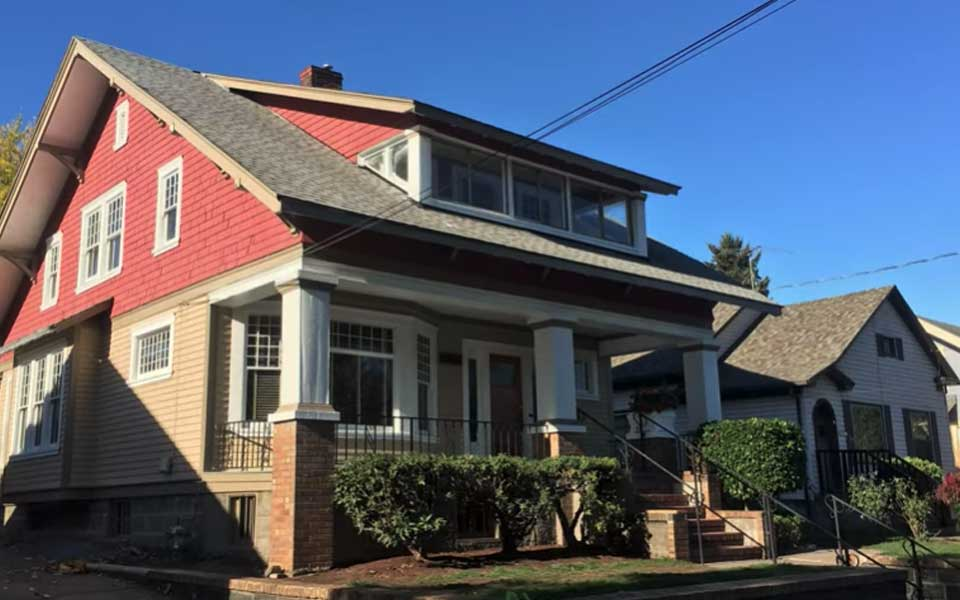 Portland Historical Home Restoration After