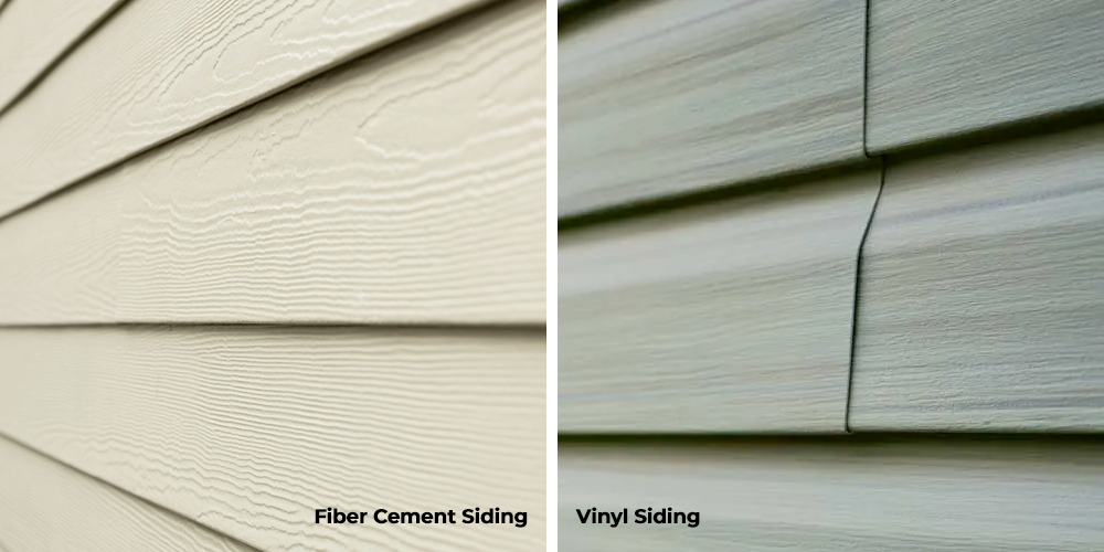 Fiber Cement Siding -VS- Vinyl Siding