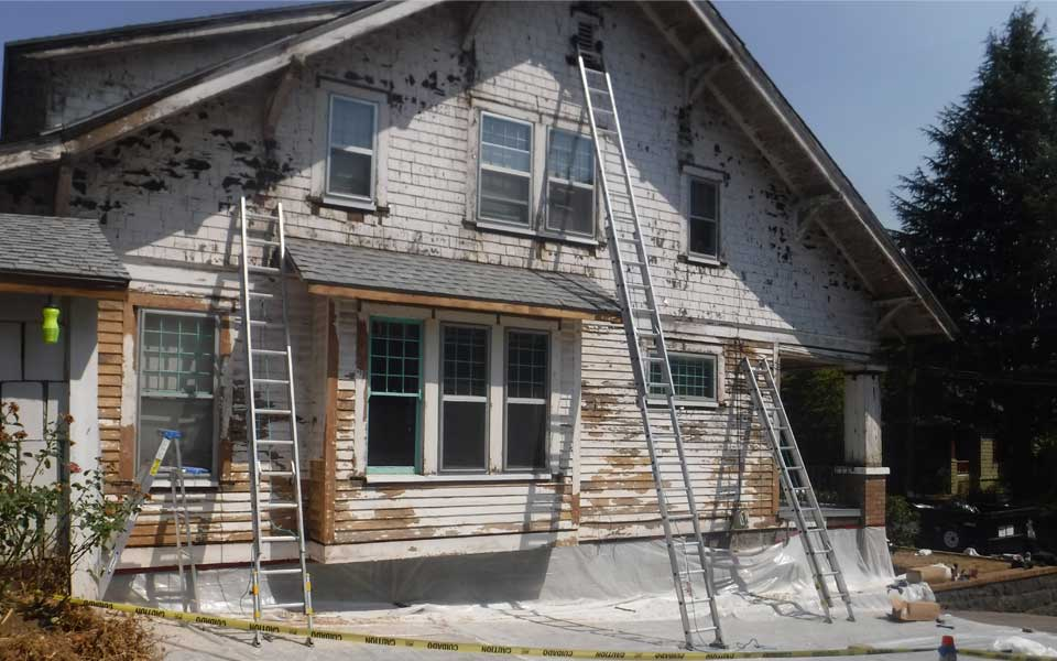 Lead Paint Removal Historic Home