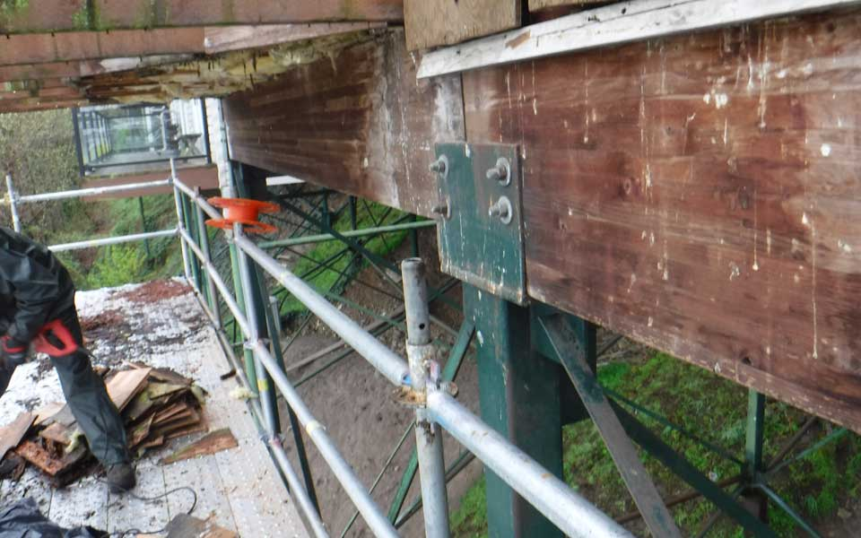 Beam And Underdecking Contractor Repair