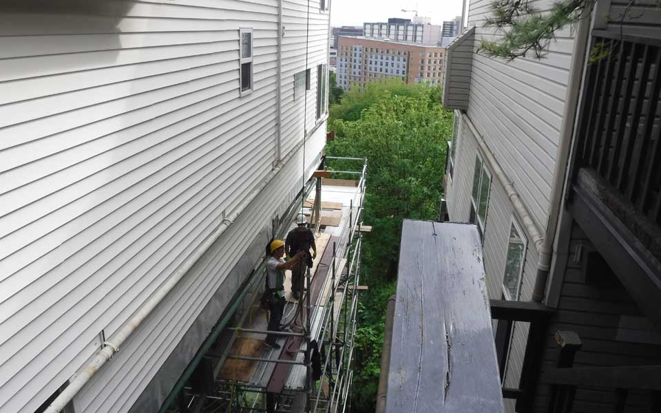 Structural Dry Rot Deck Repair