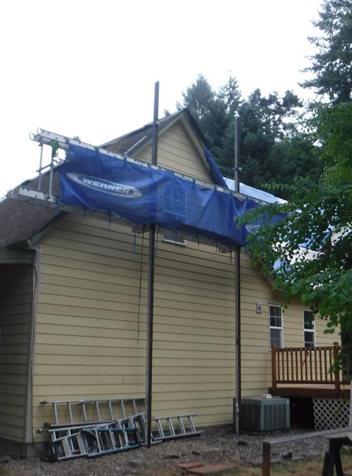Siding Repair Finish