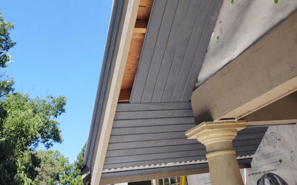 Soffit Professionally Repaired Portland