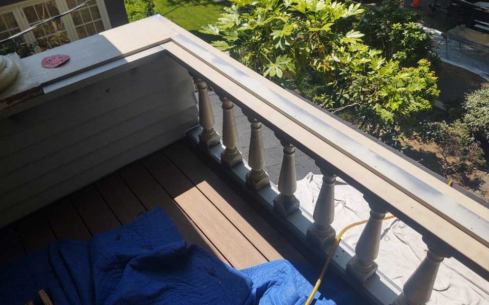 Structural Damage, Spindle Repair Historical Home Restoration