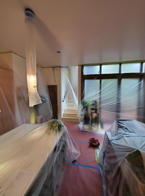 Interior Lead Paint Removal - Seattle