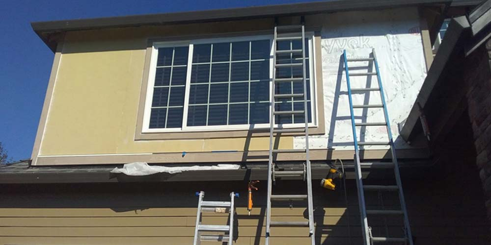 Cedar Trim And Fascia Repair